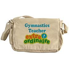 Gymnastics Teacher Extraordinaire Messenger Bag