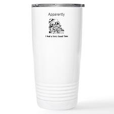 Apparently I had a Very Good Time Travel Mug