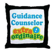 Guidance Counselor Extraordinaire Throw Pillow