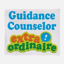 Guidance Counselor Extraordinaire Throw Blanket