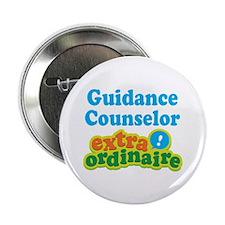"""Guidance Counselor Extraordinaire 2.25"""" Button"""