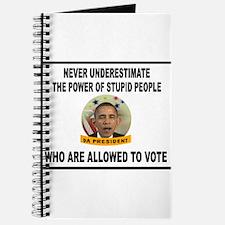 STUPID VOTERS Journal