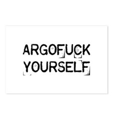 Argofuck Yourself Postcards (Package of 8)