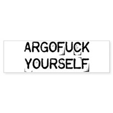 Argofuck Yourself Stickers