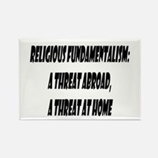 Religious Fundamentalism Rectangle Magnet
