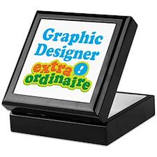 Graphic Designer Extraordinaire Keepsake Box