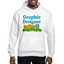 Graphic Designer Extraordinaire Jumper Hoody