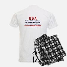 2 sides: Spending & Tea Pajamas