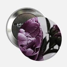 "Gorgeous Purple Flower 2.25"" Button"