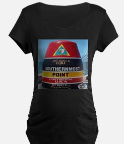 Key West Southern Most Point Monument T-Shirt
