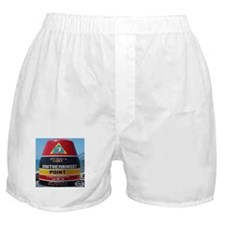 Key West Southern Most Point Monument Boxer Shorts