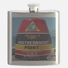 Key West Southern Most Point Monument Flask