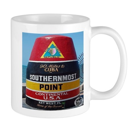 Key West Southern Most Point Monument Mug