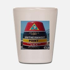 Key West Southern Most Point Monument Shot Glass