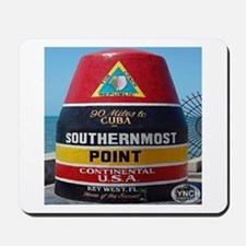 Key West Southern Most Point Monument Mousepad