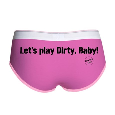 Women's Let's play dirty panties by dirty30sshoppe