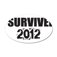 I Survived 2012 Wall Decal