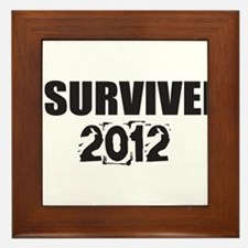 I Survived 2012 Framed Tile