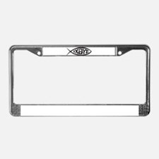 Jesus Fish IXOYE License Plate Frame