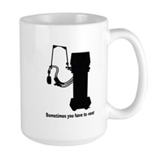 Sometimes you have to vent all black.PNG Mug