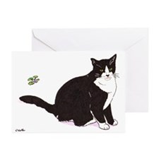 Tux Cat Greeting Cards (Pk of 20)
