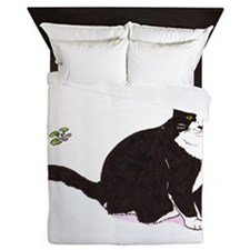 Tux Cat Queen Duvet
