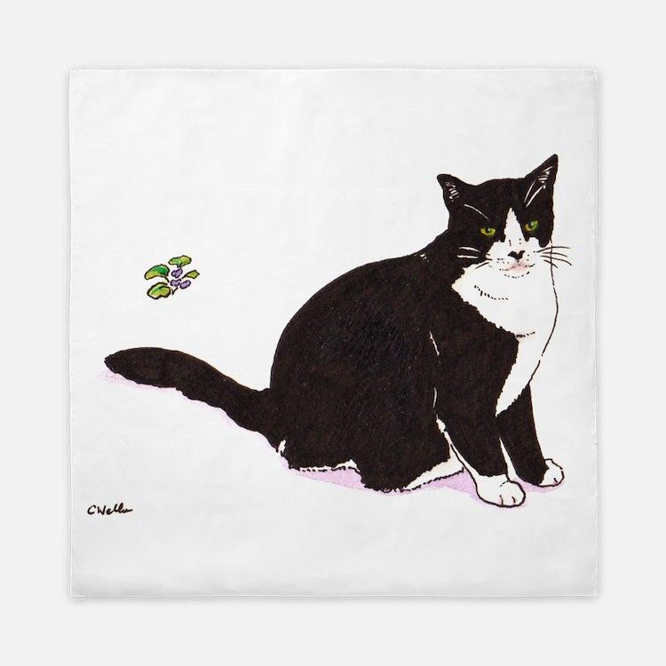 Tux Cat Queen Duvet