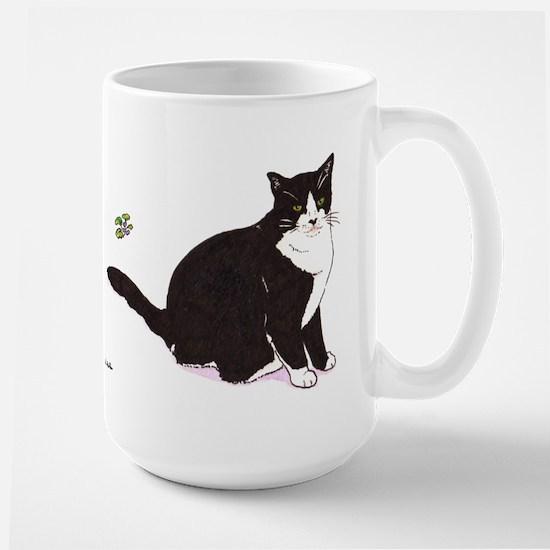 Tux Cat Large Mug