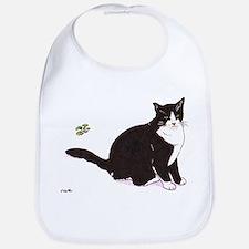 Tux Cat Bib