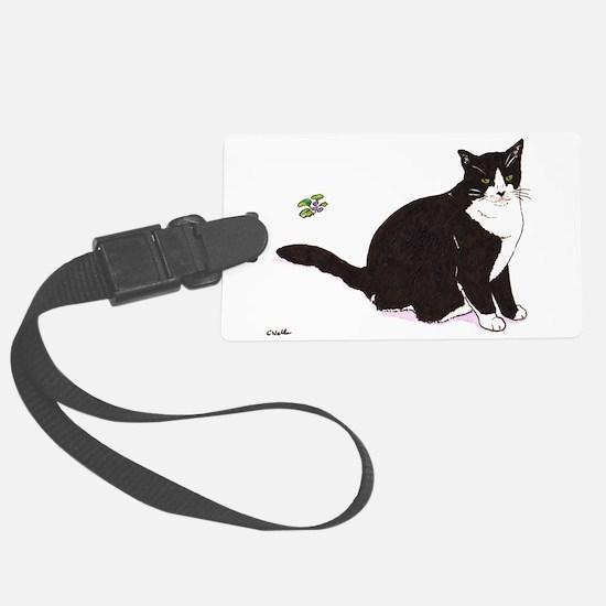 Tux Cat Luggage Tag