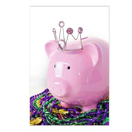 Mardi Gras Princess Postcards (Package of 8)