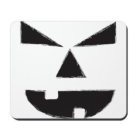Jack O Lantern Face Mousepad