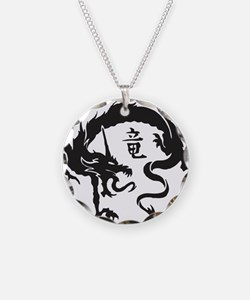 Japanese Dragon Necklace