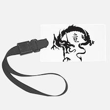 Japanese Dragon Luggage Tag