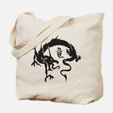 Japanese Dragon Tote Bag
