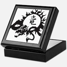 Japanese Dragon Keepsake Box