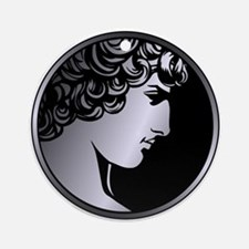 Antinous Medallion Ornament (Round)