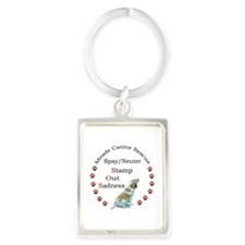 Funny Animal Portrait Keychain