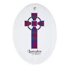 Cross - Lumsden of Kintore Ornament (Oval)