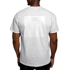 Pirattitude Pirate T Shirts Ash Grey T-Shirt