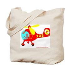 Wee Helicopter! Tote Bag
