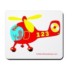 Wee Helicopter! Mousepad