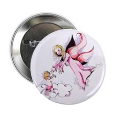 Angels Among Us Button