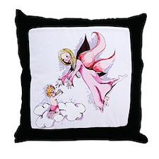 Angels Among Us Throw Pillow