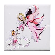 Angels Among Us Tile Coaster