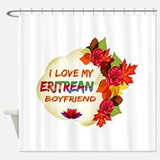 Eritrean Boyfriend designs Shower Curtain