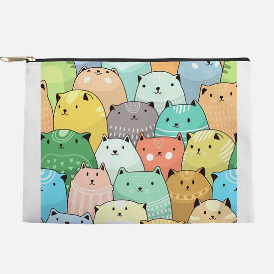 Cute Cats Makeup Pouch
