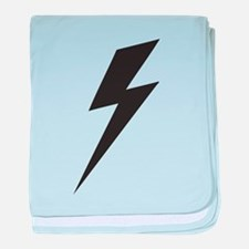 Bolt baby blanket