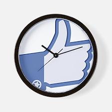 Thumbs Up Wall Clock