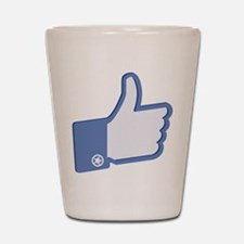 Thumbs Up Shot Glass
